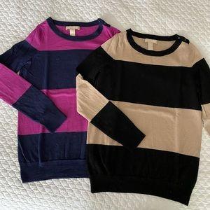 100% Merino Crew Neck Sweaters